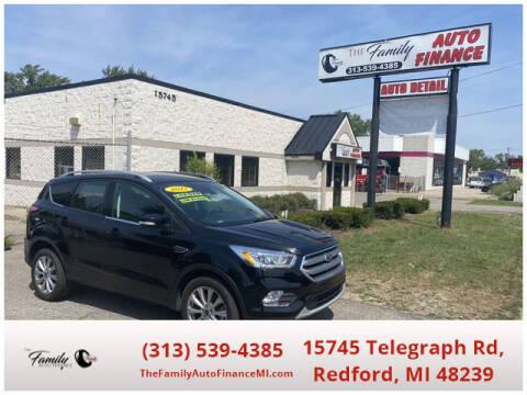 2017 Ford Escape for sale at The Family Auto Finance in Redford MI
