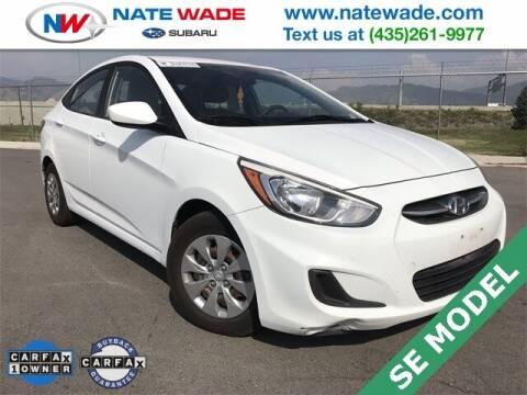2016 Hyundai Accent for sale at NATE WADE SUBARU in Salt Lake City UT