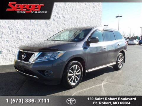 2014 Nissan Pathfinder for sale at SEEGER TOYOTA OF ST ROBERT in St Robert MO