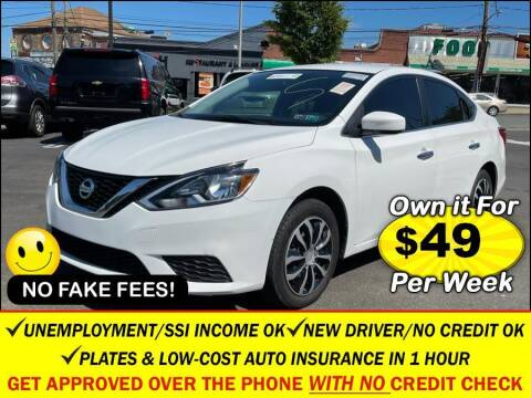 2017 Nissan Sentra for sale at AUTOFYND in Elmont NY