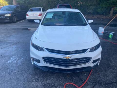 2017 Chevrolet Malibu for sale at J Franklin Auto Sales in Macon GA