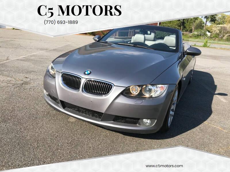 2009 BMW 3 Series for sale at C5 Motors in Marietta GA