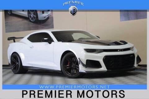 2018 Chevrolet Camaro for sale at Premier Motors in Hayward CA