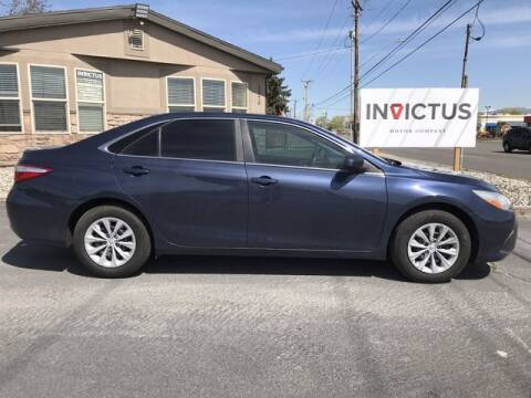 2015 Toyota Camry for sale at INVICTUS MOTOR COMPANY in West Valley City UT