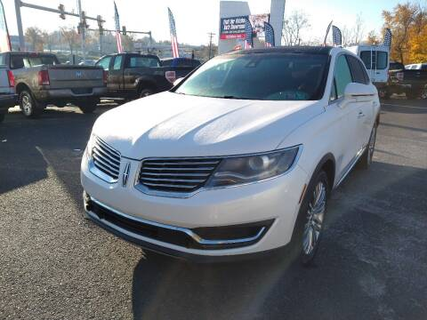 2016 Lincoln MKX for sale at P J McCafferty Inc in Langhorne PA