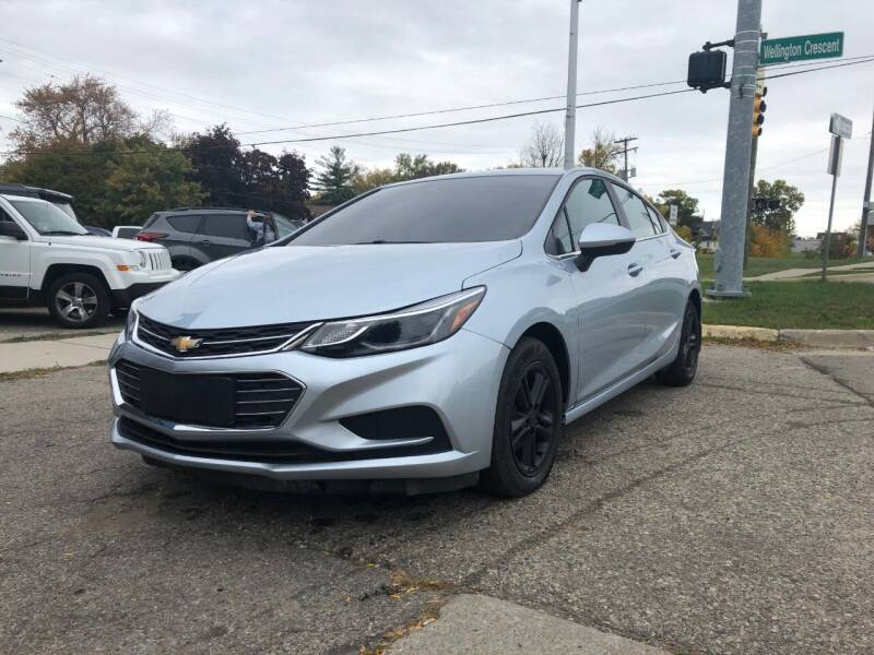 2017 Chevrolet Cruze for sale at One Price Auto in Mount Clemens MI