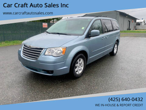 2008 Chrysler Town and Country for sale at Car Craft Auto Sales Inc in Lynnwood WA