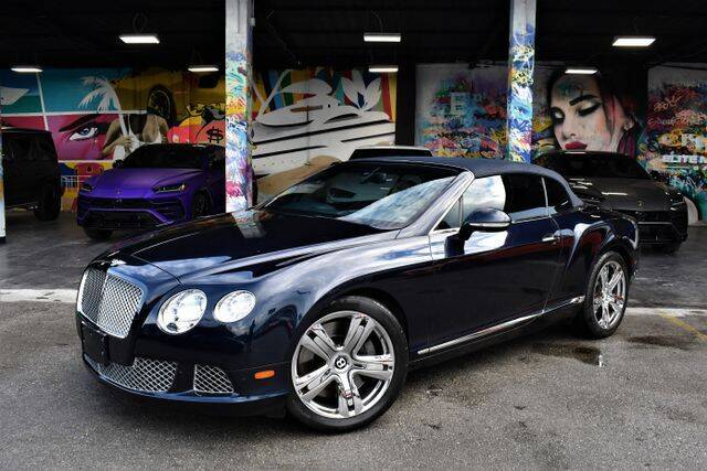 2012 Bentley Continental for sale in Miami, FL