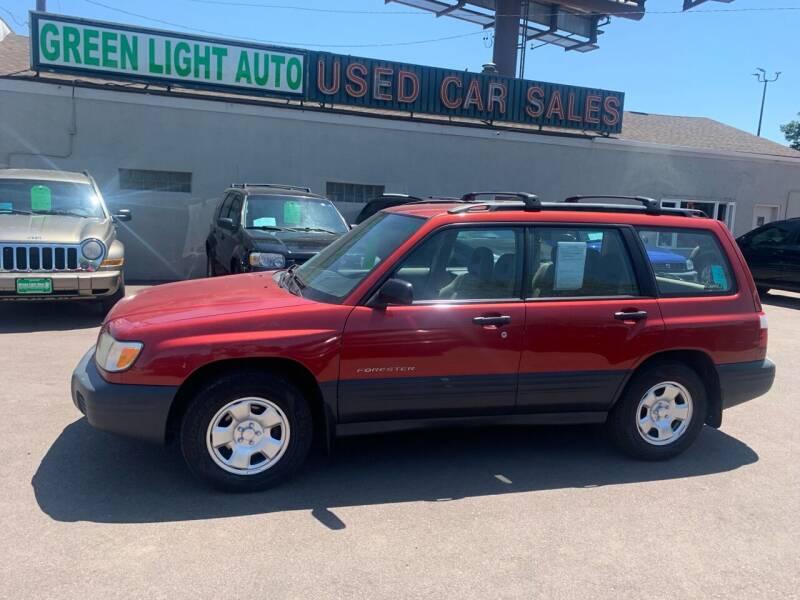 2002 Subaru Forester for sale at Green Light Auto in Sioux Falls SD