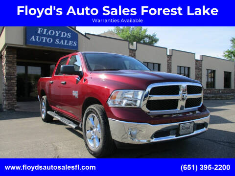 2019 RAM Ram Pickup 1500 Classic for sale at Floyd's Auto Sales Forest Lake in Forest Lake MN