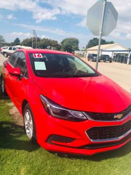 2016 Chevrolet Cruze for sale at Pioneer Auto in Ponca City OK