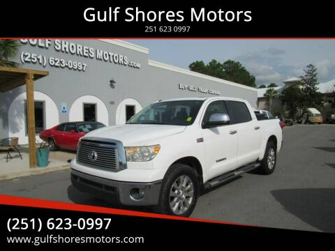 2013 Toyota Tundra for sale at Gulf Shores Motors in Gulf Shores AL