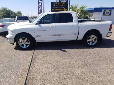 2012 RAM Ram Pickup 1500 for sale at 1ST AUTO & MARINE in Apache Junction AZ