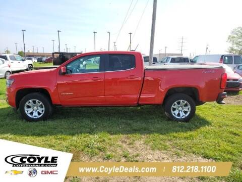 2019 Chevrolet Colorado for sale at COYLE GM - COYLE NISSAN - New Inventory in Clarksville IN