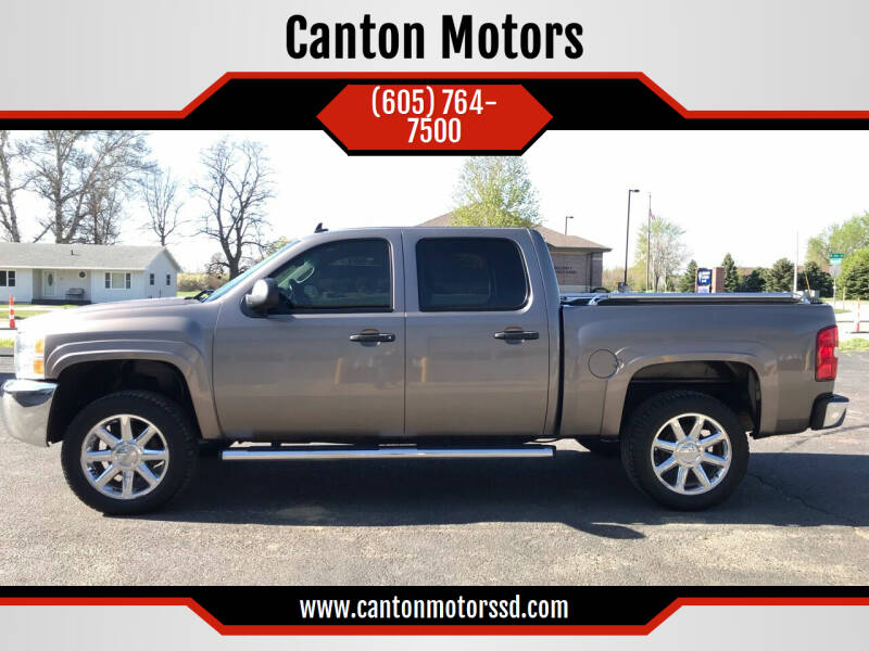 2012 Chevrolet Silverado 1500 for sale at Canton Motors in Canton SD