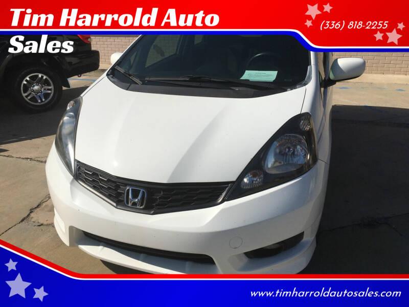 2013 Honda Fit for sale at Tim Harrold Auto Sales in Wilkesboro NC