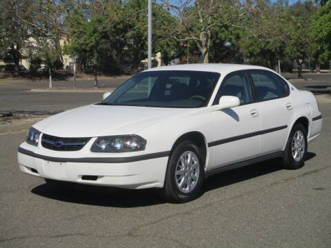 2003 Chevrolet Impala for sale at General Auto Sales Corp in Sacramento CA