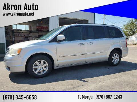 2010 Chrysler Town and Country for sale at Akron Auto - Fort Morgan in Fort Morgan CO