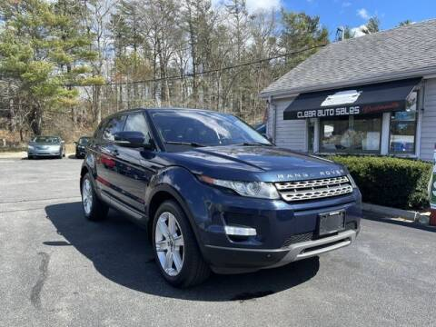 2012 Land Rover Range Rover Evoque for sale at Clear Auto Sales 2 in Dartmouth MA