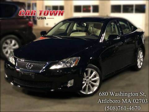 2010 Lexus IS 250 for sale at Car Town USA in Attleboro MA