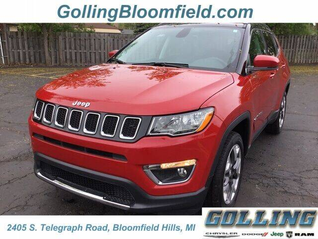 2018 Jeep Compass for sale in Waterford, MI