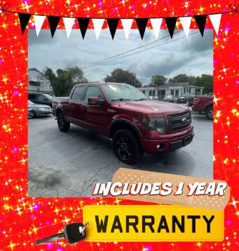 2014 Ford F-150 for sale at LAUER BROTHERS AUTO SALES in Dover PA