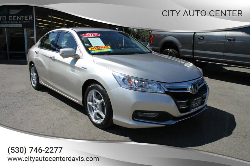 2014 Honda Accord Plug-In for sale at City Auto Center in Davis CA
