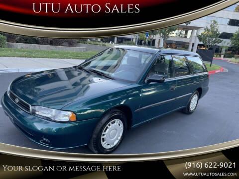 1997 Subaru Legacy for sale at UTU Auto Sales in Sacramento CA