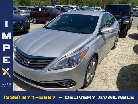 2017 Hyundai Azera for sale at Impex Auto Sales in Greensboro NC
