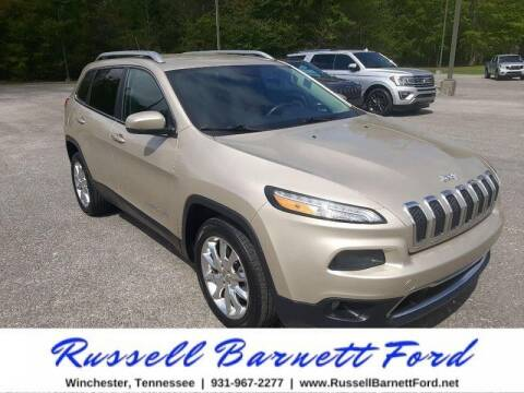 2015 Jeep Cherokee for sale at Oskar  Sells Cars in Winchester TN