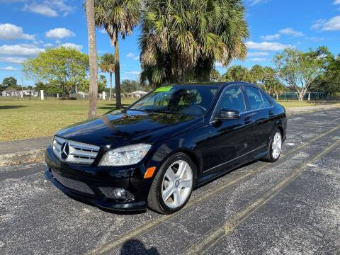 2010 Mercedes-Benz C-Class for sale at Lamberti Auto Collection in Plantation FL