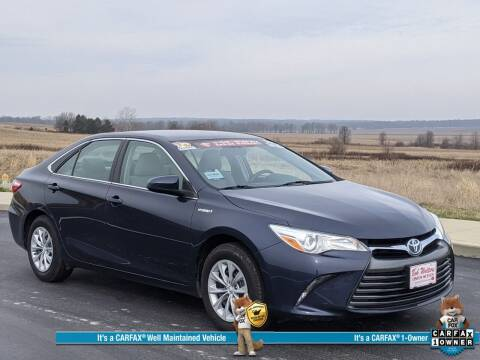 2016 Toyota Camry Hybrid for sale at Bob Walters Linton Motors in Linton IN