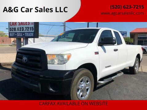 2012 Toyota Tundra for sale at A&G Car Sales  LLC in Tucson AZ