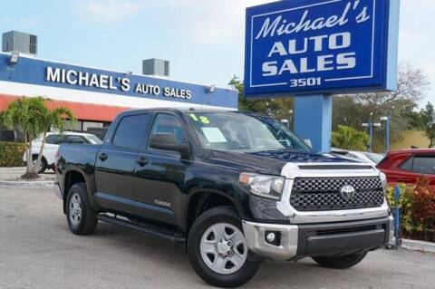 2018 Toyota Tundra for sale at Michael's Auto Sales Corp in Hollywood FL