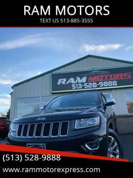 2014 Jeep Grand Cherokee for sale at RAM MOTORS in Cincinnati OH