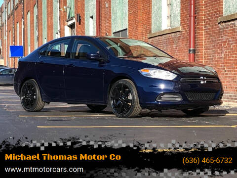 2015 Dodge Dart for sale at Michael Thomas Motor Co in Saint Charles MO