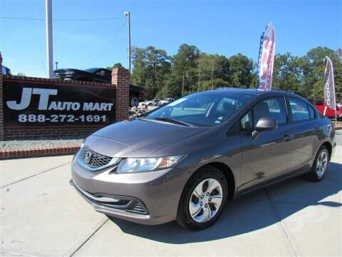 2013 Honda Civic for sale at J T Auto Group in Sanford NC