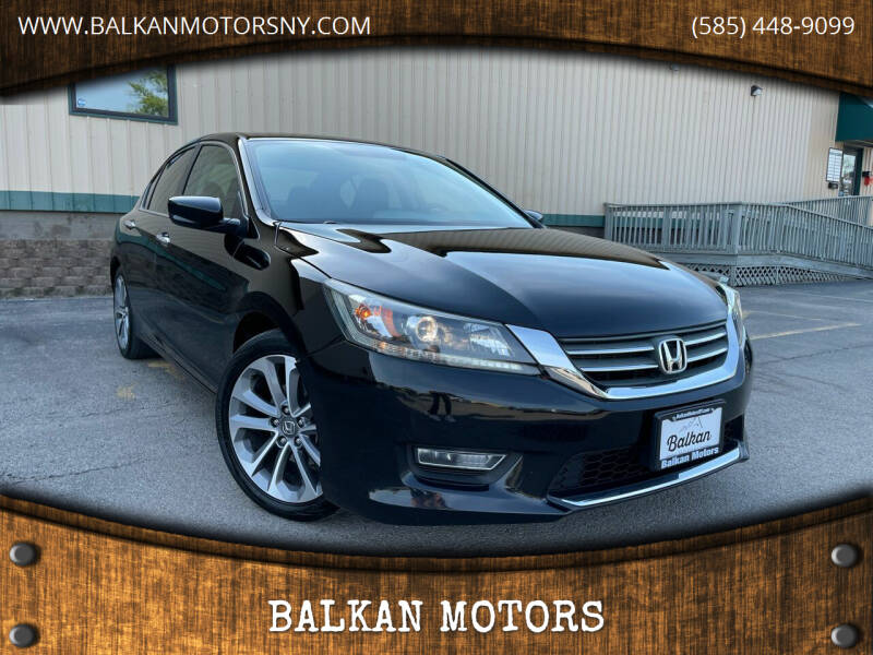 2013 Honda Accord for sale at BALKAN MOTORS in East Rochester NY
