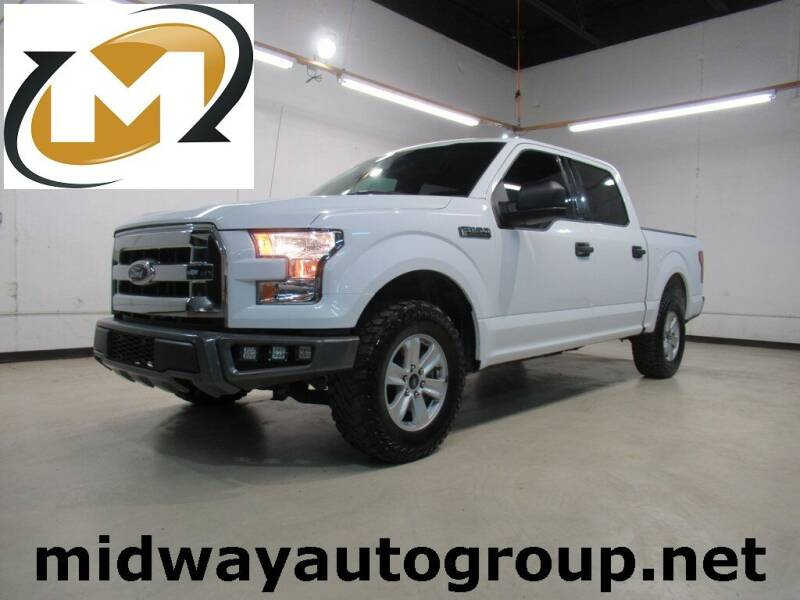 2017 Ford F-150 for sale at Midway Auto Group in Addison TX