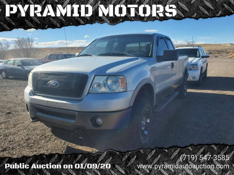 2006 Ford F-150 for sale at PYRAMID MOTORS - Pueblo Lot in Pueblo CO
