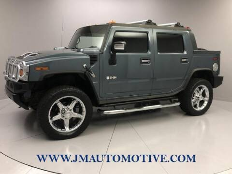2005 HUMMER H2 SUT for sale at J & M Automotive in Naugatuck CT