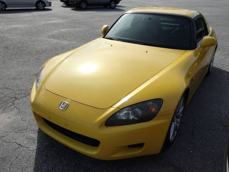 2002 Honda S2000 for sale at HAPPY TRAILS AUTO SALES LLC in Taylors SC