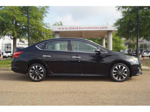 2019 Nissan Sentra for sale at BLACKBURN MOTOR CO in Vicksburg MS