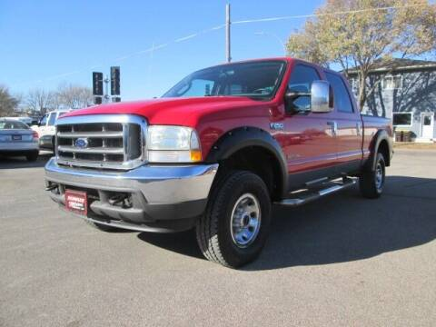 2004 Ford F-250 Super Duty for sale at SCHULTZ MOTORS in Fairmont MN