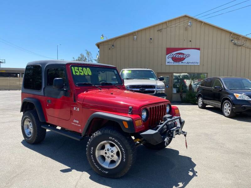 2006 Jeep Wrangler for sale at Approved Autos in Bakersfield CA