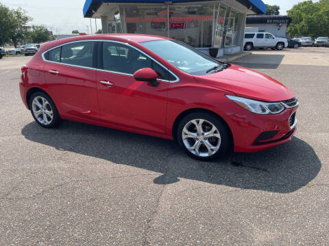 2018 Chevrolet Cruze for sale at TOWER AUTO MART in Minneapolis MN