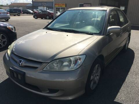 2004 Honda Civic for sale at Dijie Auto Sale and Service Co. in Johnston RI