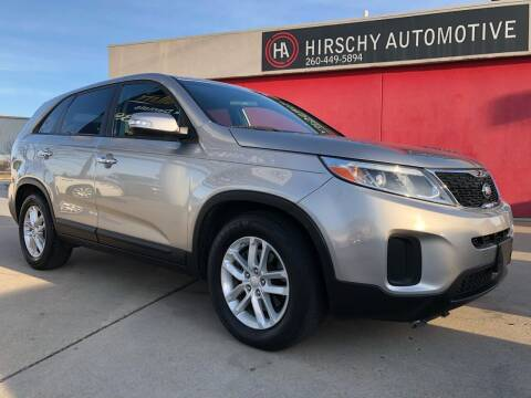 2014 Kia Sorento for sale at Hirschy Automotive in Fort Wayne IN