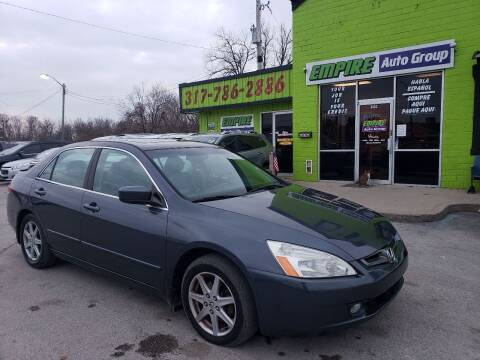 2003 Honda Accord for sale at Empire Auto Group in Indianapolis IN