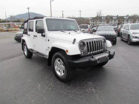 2014 Jeep Wrangler Unlimited for sale at Hibriten Auto Mart in Lenoir NC